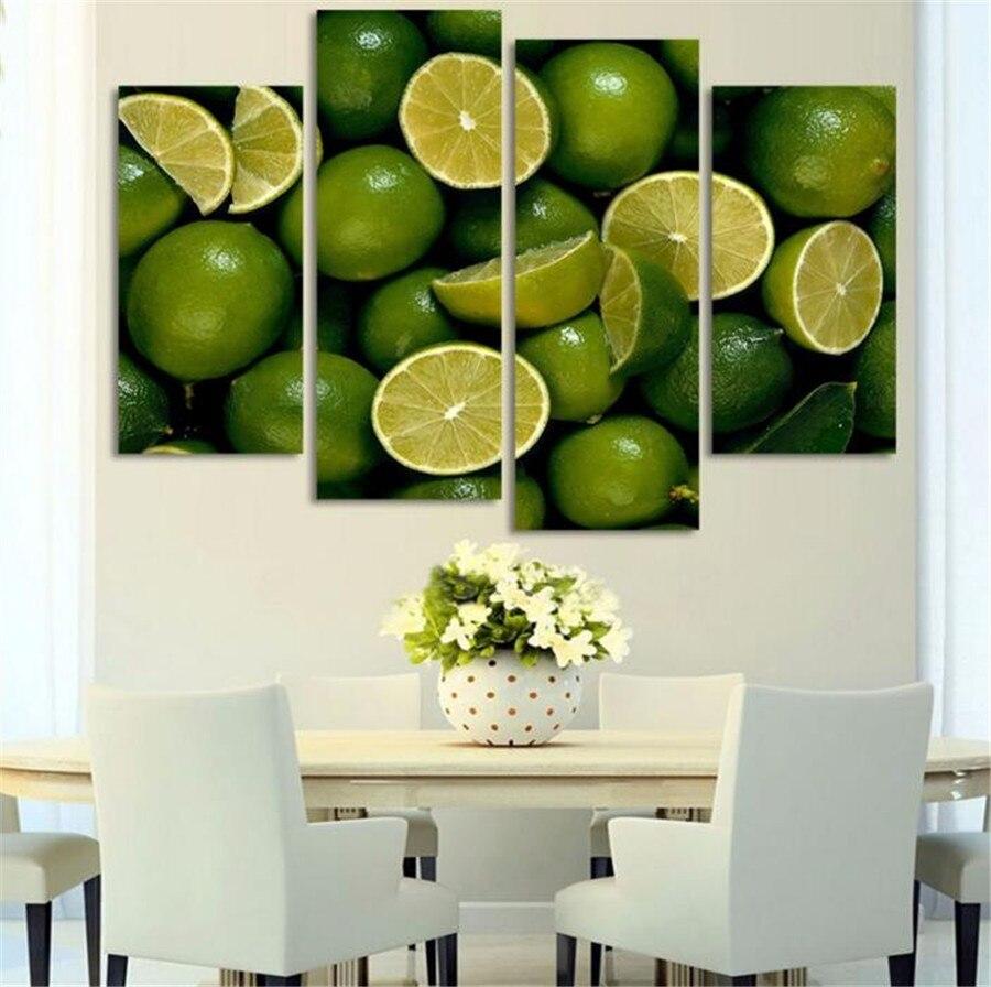 Lemon And Lime Kitchen Decor Popular Lemon Oil Painting Buy Cheap Lemon Oil Painting Lots From