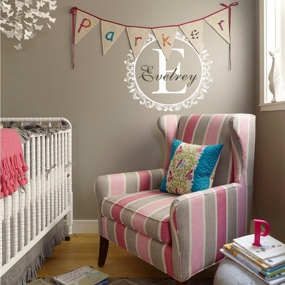 Compare Prices On Custom Monogram Decal Online ShoppingBuy Low - Personalized custom vinyl wall decals for nursery