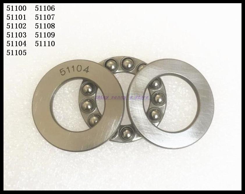 4pcs/Lot  51105 25mm x 42mm x 11mm Axial Ball Thrust Bearing Brand New 2pcs lot 51206 30mm x 52mm x 16mm axial ball thrust bearing brand new