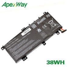 ApexWay 38Wh C21N1333 C21NI333 для Asus TP550L TP550LA TP550LD TP550LJ, переворачивающийся трансформатор tp550 X454