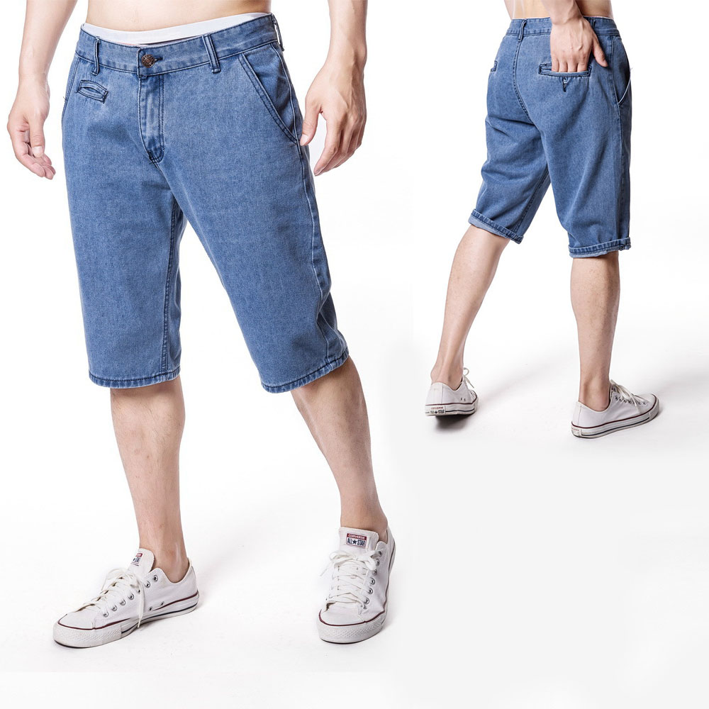 Baggy Stop118 Denim Shorts