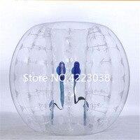 Бесплатная доставка надувной бампер Bubble футбольный мяч диаметр 5 футов (1,5 м) пузырь Футбол гигантский людской мяч для взрослых и подростков