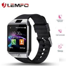 LEMFO Good Watch Digital camera Bluetooth WristWatch SIM TF Card Smartwatch Telephone Mate for Android IOS DZ09 Multi Languages