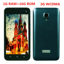 Original Smartphones 1G RAM+16G ROM cheap celular qualcomm 1.7GHz Android OS mobile phones 3G WCDMA 2MP+8MP front/back camera(China)