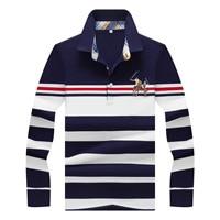Brand clothing New Men Polo Shirt Men Business & Casual male polo shirt long Sleeve breathable horse polo shirt