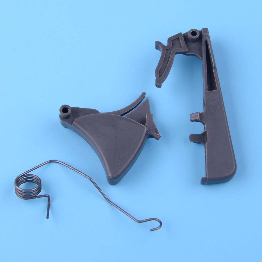 LETAOSK 3pcs/kit Throttle Trigger Arm Lock Spring Kit 503854401 503854501 Fit For Husqvarna 357 359 346XP 340 345 350 Spare Part