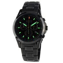 EPOCH 6022G waterproof 100m tritium gas luminous triple window sport chronograph mens quartz watch