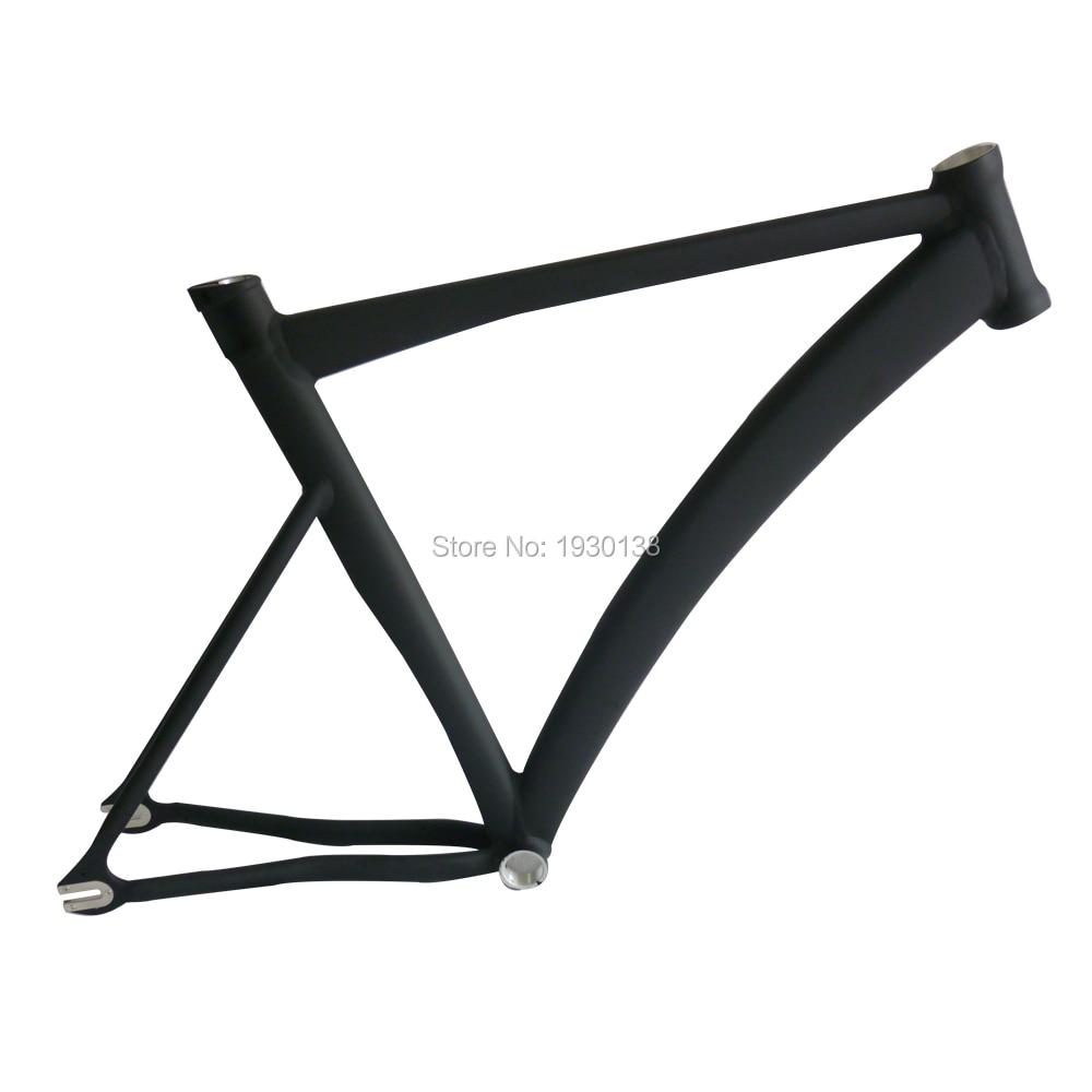 super light road bike frame aluminum alloy fixie bike frame 700c track bicycle part free