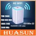 Abierto original de huawei e5180 e5180s-22 4g lte cubo 150 mbps 4g wifi router cpe con voip
