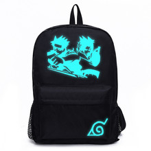 Anime Luminous Canvas Backpack Rucksack Bagpack Laptop Notebook