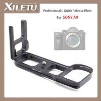 XILETU LB A9 Professional L Type Camera Tripod Ball Head Mounting Bracket Quick Release Plate For