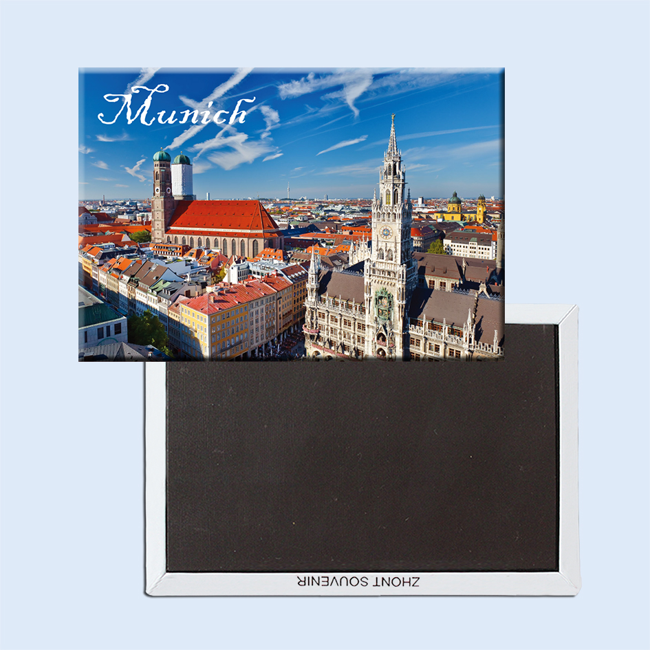 Münhen Cityscape Fridge Magnetic 21620