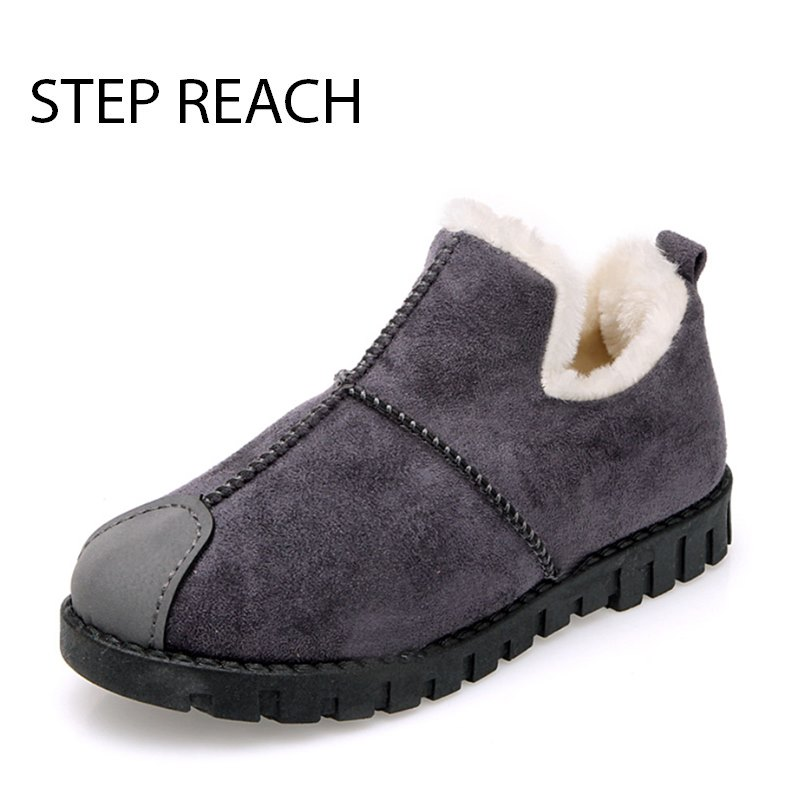 STEPREACH Brand Shoes Woman Snow Boots Winter Women Zapatos Mujer Botas Ankle Schoenen Vrouw Scarpe Donna