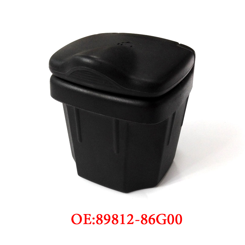 Black Car Ashtray Trash Can Storage Ash Boxes Auto Interior Accessories For Suzuki Vitara Alto Sx4 Swift S-CROSS 2010-2016