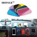 2 pçs/lote SEEYULE Anti Slip Mat Painel Do Carro Almofada Pegajosa PVC para Antiderrapante Phone/mp3/mp4/GPS/Almofada Acessórios Do Carro