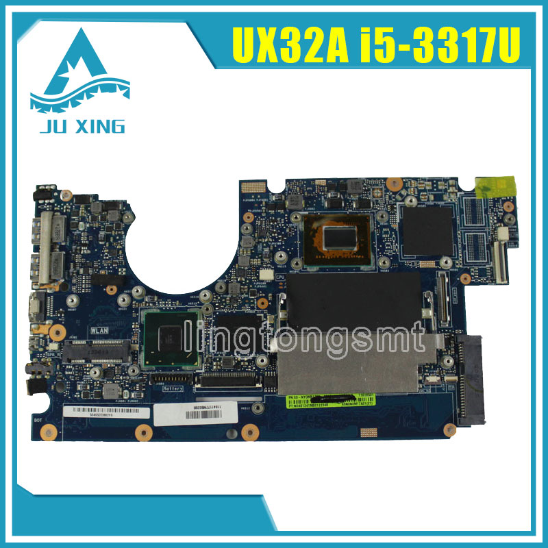 For ASUS UX32A Laptop Motherboard UX32VD REV2.2 2.4 mainboard I5-3317cpu integarted 100% Tested free shipping for asus m50sr laptop motherboard m50vm rev 2 0 motherboards 100% tested free shipping