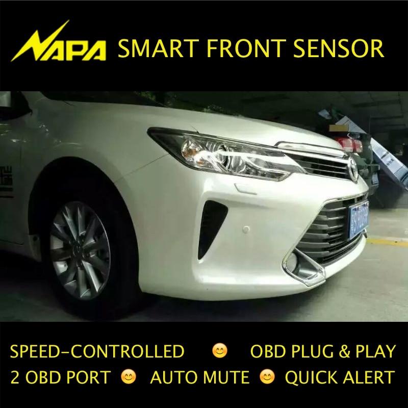 Sürətli idarə olunan ön parkinq sensörü OBD Plug & Play No Tel - Avtomobil elektronikası - Fotoqrafiya 2