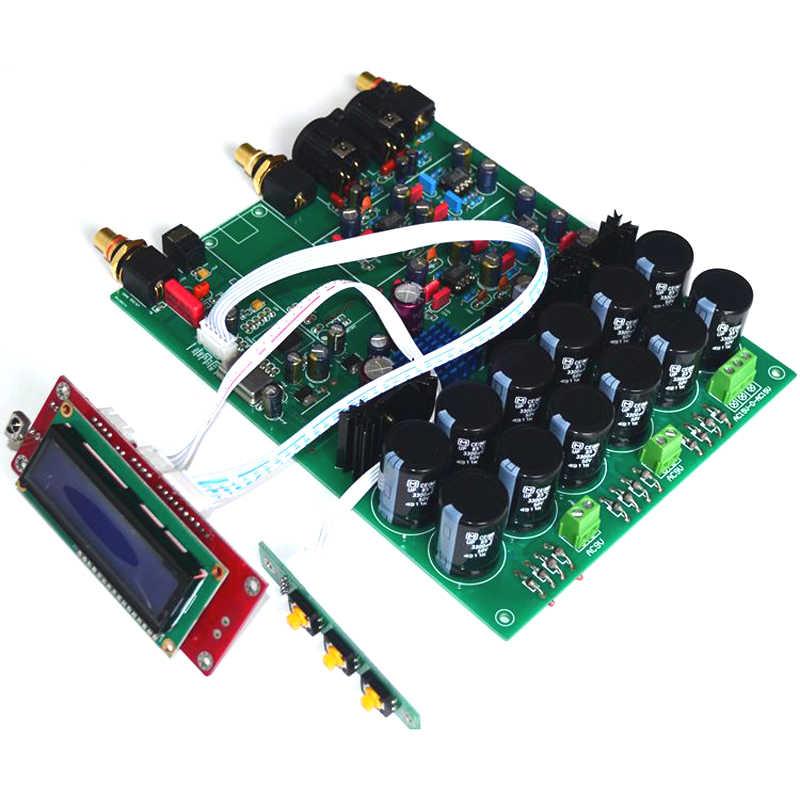 ES9038PRO USB DAC デコーダアンプ Amanero Xmos USB カード 32bit DSD HIFI DAC オーディオボード