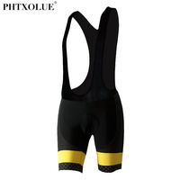 Phtxolue Cycling Bib Shorts Men Cycling Mtb Ropa Ciclismo Breathable Shorts 3D Spong Padded Size XXS-4XL
