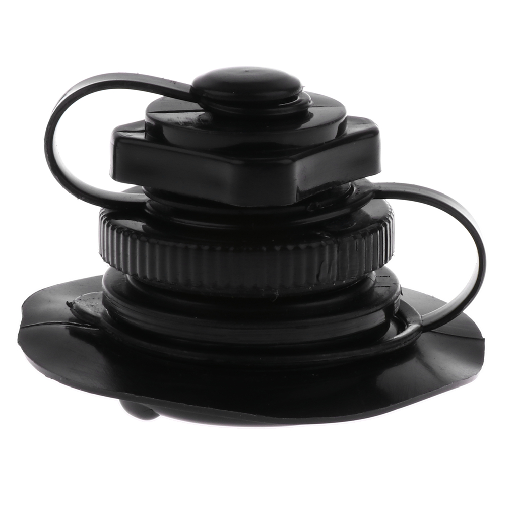 Plastic Inflatable Rib Air Valve Pump Twist Lock For Inflatable Boat Kayak Mattress Airbed Raft Boat Vent  Black/ White