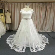 2018 Berkualiti tinggi Lace Laceless Wedding Dresses 2018 Boho Pakaian perkahwinan Chic Baju Pengantin robe de mariag Beach dres