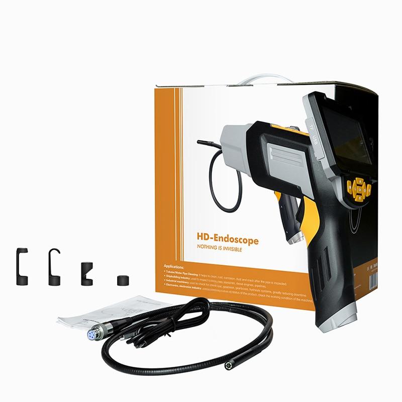 Endoscopio Digital Industrial 4,3 pulgadas LCD boroscopio Videoscope con Sensor CMOS cámara de inspección Semi-rígida endoscopio de mano - 6