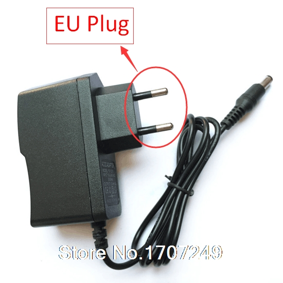 AC 100V-240V Converter Adapter DC 9V 1A Power Supply EU Plug DC 5.5mm x 2.1mm 1000mA  Power Adapter