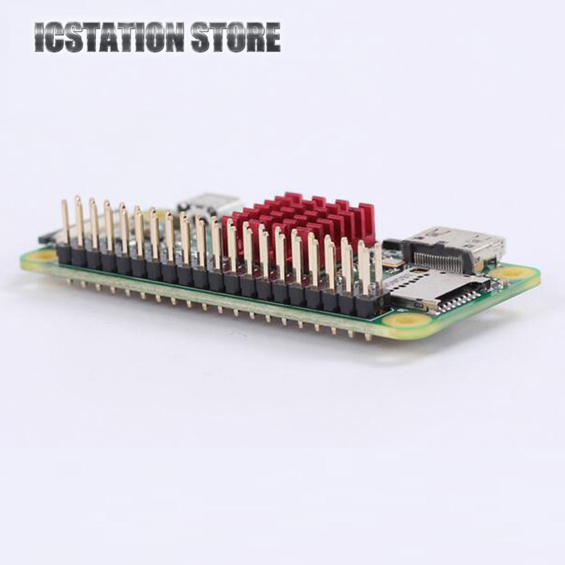 GPIO Header Pin Double Row 20pin for Pi0 Raspberry Pi Zero Male Pins Connectors 2*20P 2.5mm