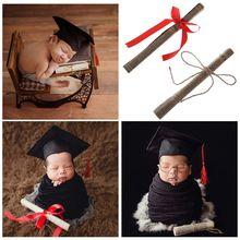 Детские реквизиты для фотосъемки рулонная бумага книжный ремень фото фотография новорожденный креативный орнамент доктор холостяк учёный стиль