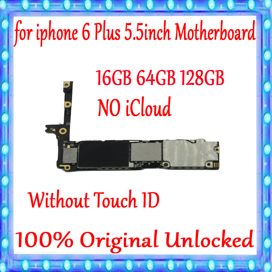for iPhone 6 Plus 5.5 inch Motherboard 16gb 64gb 128g 100% Original unlocked for iphone 6 Plus Mainboard without Touch IDfor iPhone 6 Plus 5.5 inch Motherboard 16gb 64gb 128g 100% Original unlocked for iphone 6 Plus Mainboard without Touch ID