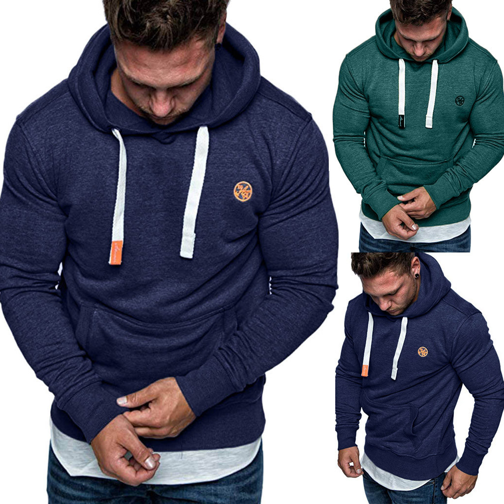 Fashion Military Hoody Style Mens Long Sleeve Autumn Winter Casual Sweatshirt Hoodies Top Blouse Tracksuits Hoodies Men's Cloth