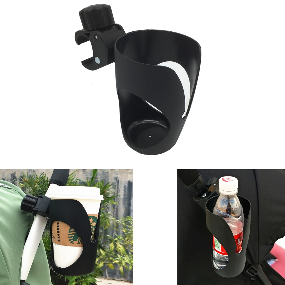 Bicycle Cup Holder//Stroller Bottle Holders Universal 360° Rotation Anti-slip Z