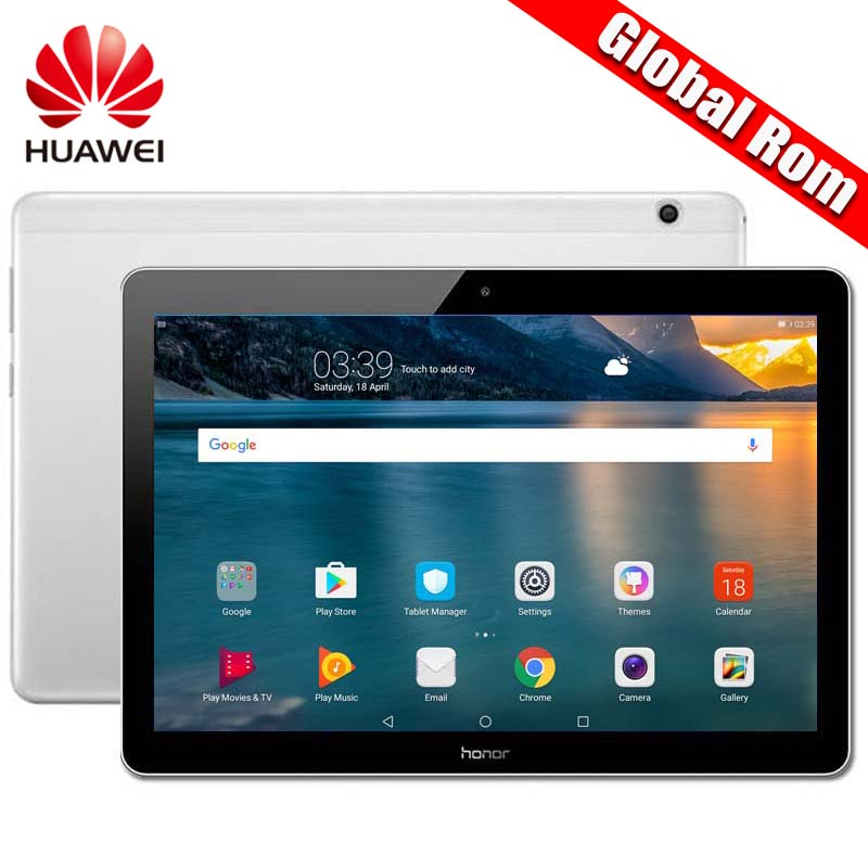 Global ROM Original HUAWEI MediaPad T3 10 Android 7 0 WIFI Honor Play Tablet 2 9