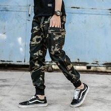 fashion camouflage men jeans joggers military army pants loose fit buckle elastic waist hip hop trousers men cargo pants hot women s camouflage pants cargo camo military loose elastic waist long trousers ladies fashion sport casual street hip hop