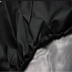 "Image 3 - 1Pcs רכב סגנון שחור 14 "", 15"",16 "",17 אינץ תמונה לוגו PVC PU חילוף צמיג צמיג גלגל שסתום מכסה עבור מכוניות אבזרים"