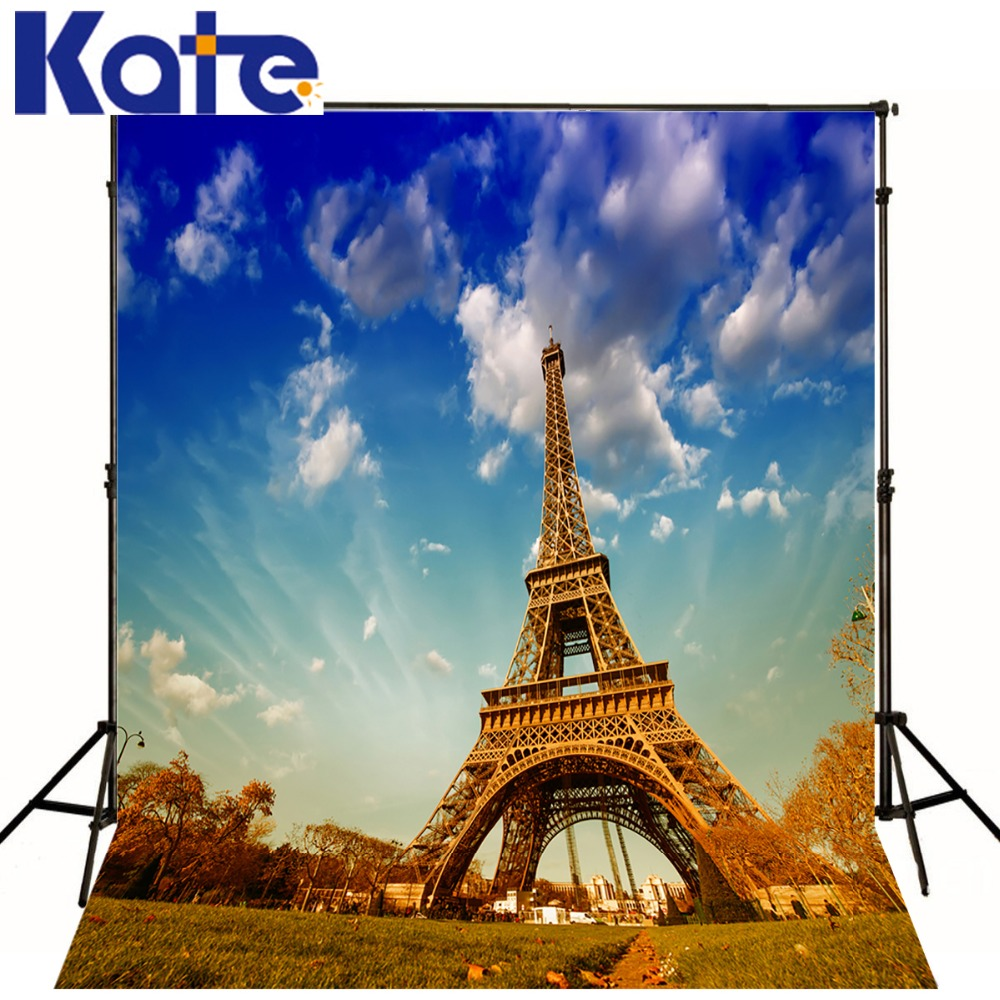 Eiffel Tower Backdrops 200x300cm Blue Sky Photo Background Custom Photo Backdrop Background Studio Wedding Shoot Fotografia sensfun where the wild things are dessert table backdrops custom photo studio backdrop background vinyl 7x5ft
