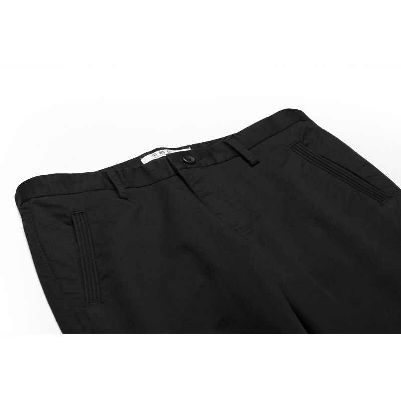 Enjeolon брендовые длинные брюки мужские Узкие однотонные повседневные брюки мужская одежда наивысшего качества мужские брюки Повседневная одежда K6226