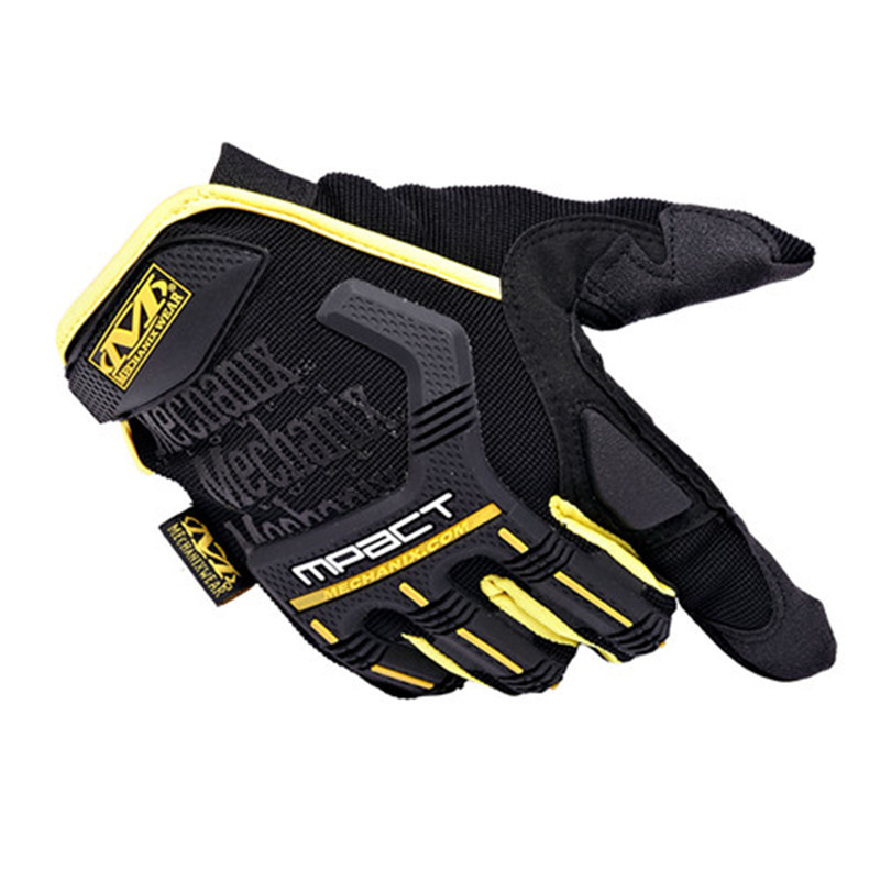 Mechanix Wear M-Pact motorcycle gloves men gym tactical fitness cycling paintball outdoor airsoft sport workout wearproof luvas - APPLETREE FASHION DESIGN CO.,LTD. store