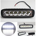 6 inch Mini 18W LED Light Bar 12V  Motorcycle/Car LED Offroad 4x4 ATV Daytime Running Lights Truck Tractor Warning Work Light