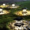 Super Bright Led Solaire Light Outdoor Decoation Lighting Solar Lamp Aluminum Outdoor Lantern LED Solar Garden