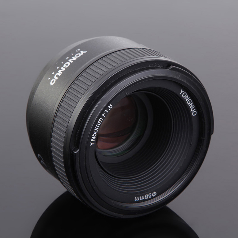 New YONGNUO YN50mm 50mm F1.8 1:1.8 Standard Prime Lens Large Aperture Auto Manual Fixed Focus AF MF Lens For Nikon DSLR Cameras