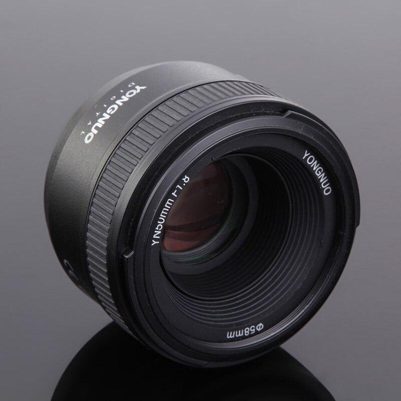Nuevo Yongnuo yn50mm 50mm f1.8 1:1. 8 lente Prime estándar automático grande fija manual Focus AF MF para Nikon Cámaras DSLR