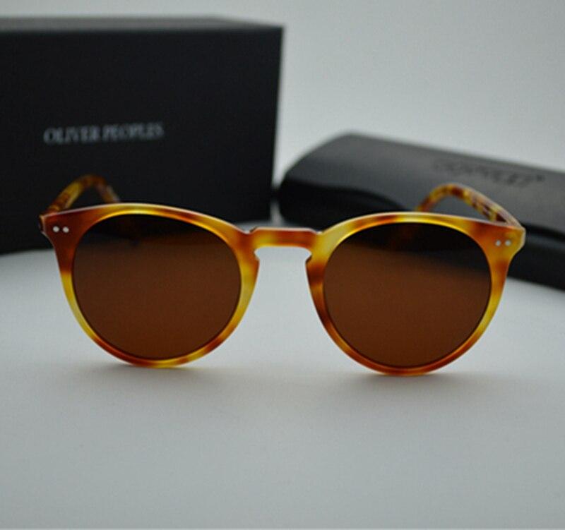 2a3e698461 Brand Vintage Men And Women Sunglasses Oliver Peoples Sir O Malley  Polarized Sun Glasses OV5256 Omalley Glasses Retro Designer