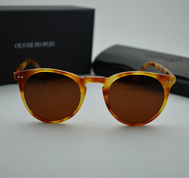 198402e7c816c Brand Vintage Men And Women Sunglasses Oliver Peoples Sir O Malley  Polarized Sun Glasses OV5256