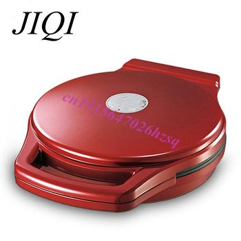 JIQI fritadeira fritura e cozimento de cozimento Elétrica pan máquina pancake maker 220 V