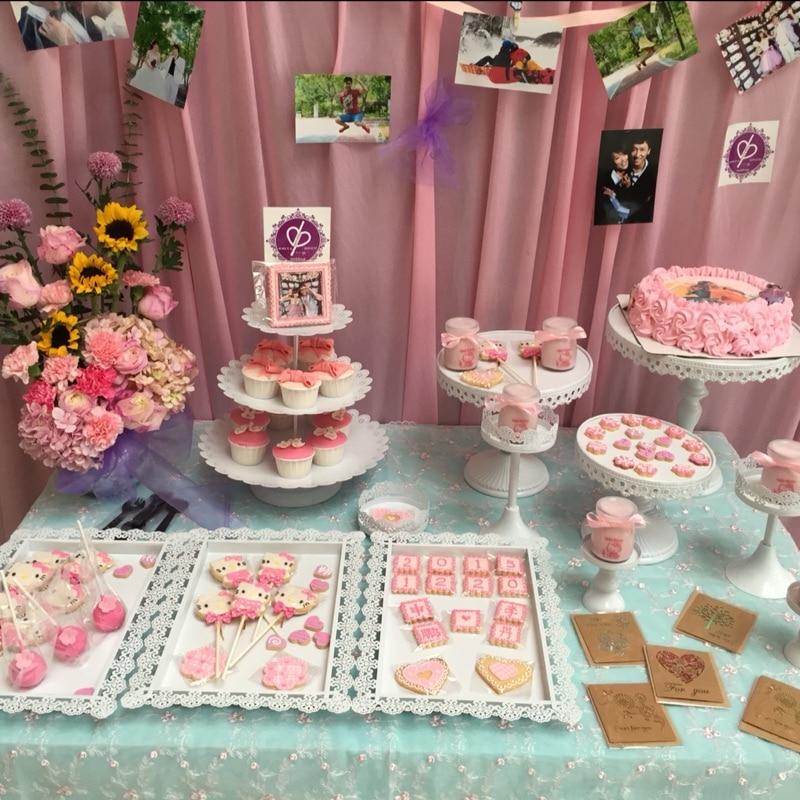 12pcs Lot Crystal Metal Cake Stand Cake Center Pieces