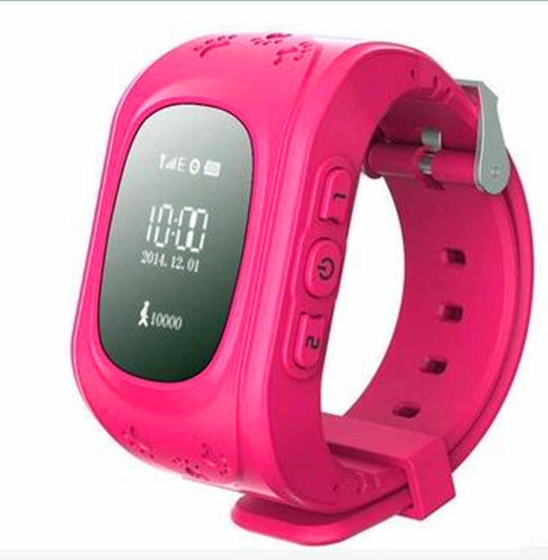 696 Q50 Kids Smart watch with Built-in Microphone GPS LBS SOS Call Reminder Micro SIM Card Adjustable Wristband For Kids