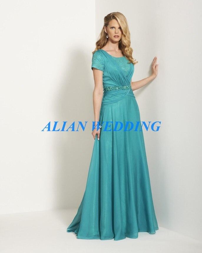 Popular Short Turquoise Mother Bride Dress-Buy Cheap Short ...