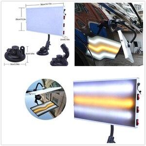 Image 4 - Светодиодный свет 3 StripCar лампа доска для безболезненного удаления вмятин от града комплект