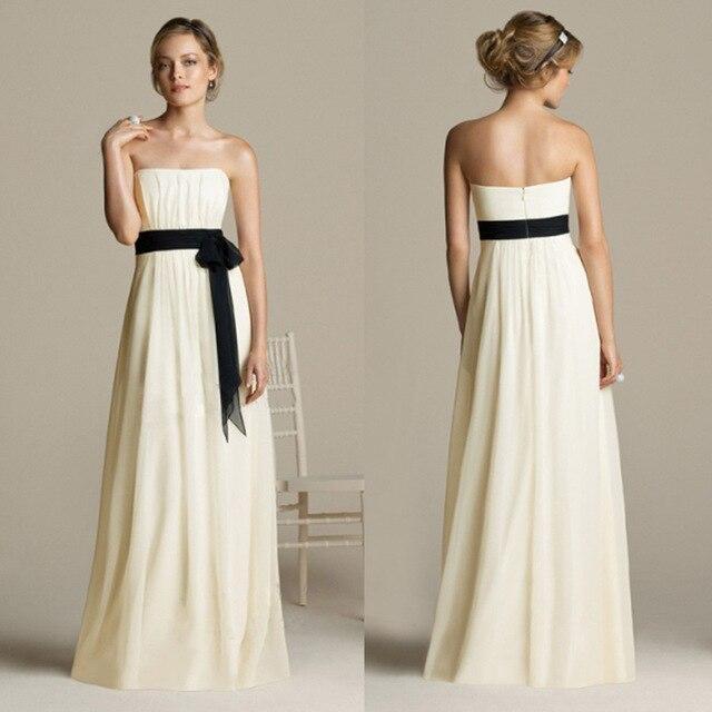 9574a267f0 Tube top quality long formal dress white wedding dinner dress evening dress